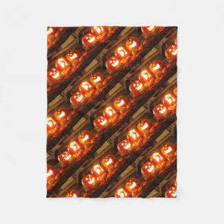 Couverture d'ouatine de Halloween Jack-o'-lantern