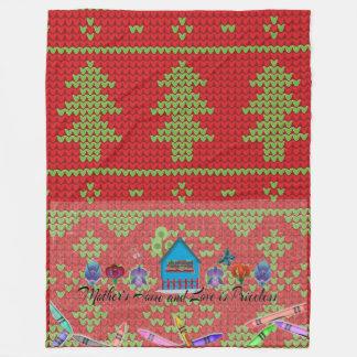 Couverture d'ouatine de Joyeux Noël, grande