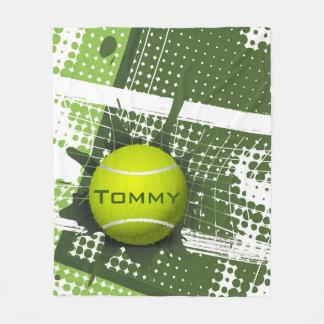 Couverture d'ouatine de la conception 1 de tennis