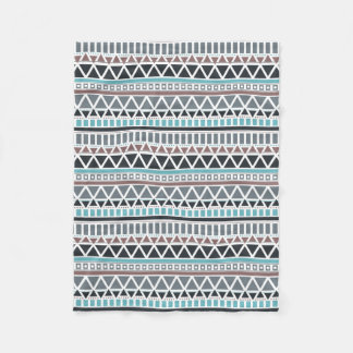 Couverture d'ouatine de motif inspirée par Aztèque