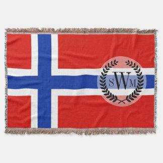 Couverture Drapeau de la Norvège