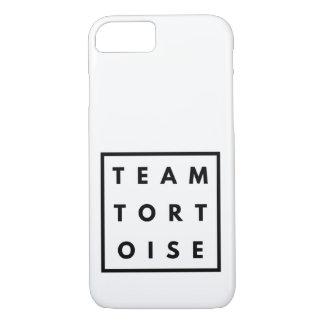 Couverture drôle de téléphone de tortue d'équipe coque iPhone 8/7