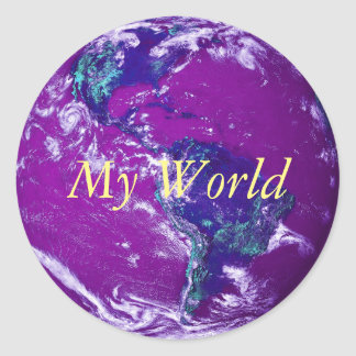 Autocollants &amp- Stickers La Terre De Planete personnalises | Zazzle.fr