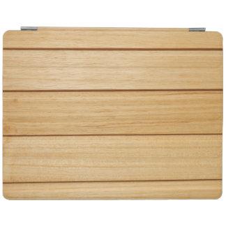 Couverture en bois d'iPad de tuiles Protection iPad