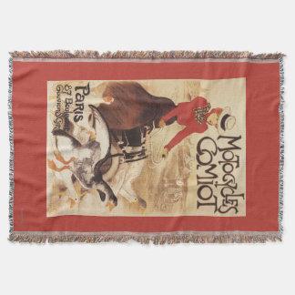 Couverture Femme de Comiot Motocycles et affiche de promo