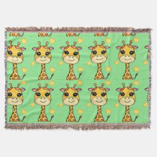 Couverture Girafe de bébé de Cutsie