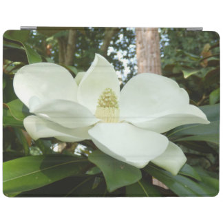 Couverture grandiflora d'iPad de magnolia Protection iPad