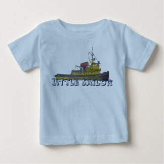 Couverture graphique d'aspiration de remorqueur de t-shirt pour bébé