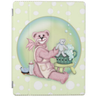 Couverture intelligente d'iPad de BAIN d'OURS Protection iPad