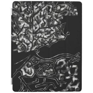 Couverture intelligente d'iPad de branches d'arbre Protection iPad