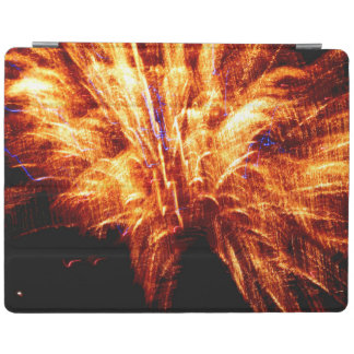 Couverture intelligente d'iPad de feu d'artifice Protection iPad