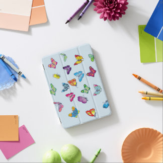 couverture intelligente d'iPad de papillon mini Protection iPad Mini