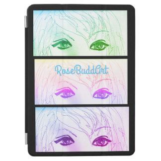 couverture intelligente d'ipad, noire protection iPad pro