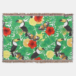 Couverture Jardin tropical