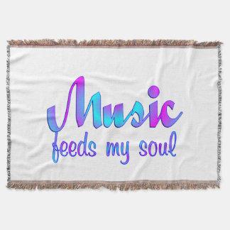 Couverture La musique alimente mon âme