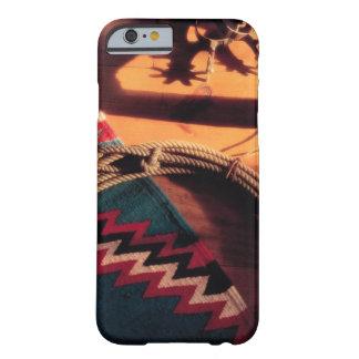 Couverture, lasso, et dents de Natif américain Coque iPhone 6 Barely There