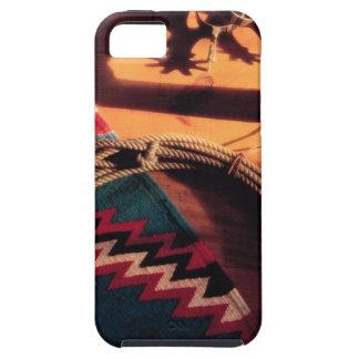 Couverture, lasso, et dents de Natif américain iPhone 5 Case