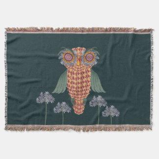 Couverture Le hibou de la sagesse et des fleurs