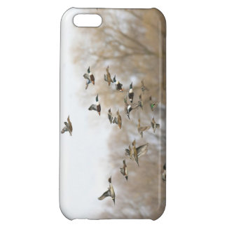 Couverture mélangée de l'iPhone 5 de canards - int Coque iPhone 5C
