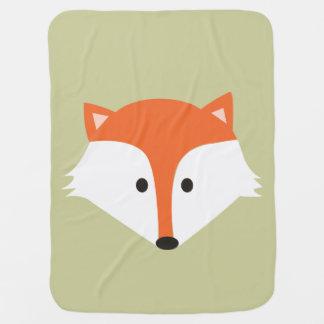 Couverture mignonne de bébé de Fox Couverture De Bébé