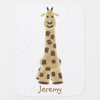 Couverture mignonne de bébé de girafe couvertures pour bébé