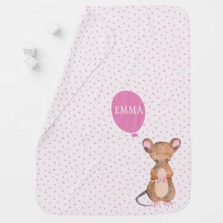 Couverture mignonne de bébé de souris de région couvertures pour bébé