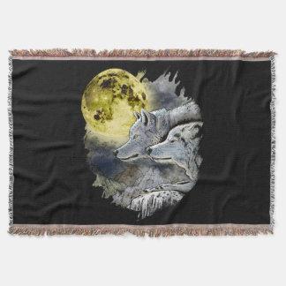 Couverture Montagne de lune de loup d'imaginaire