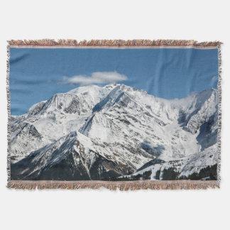 Couverture Mt. Blanc avec des nuages
