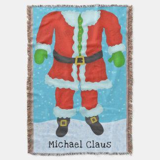 Couverture Noël drôle de nouveauté de corps du père noël