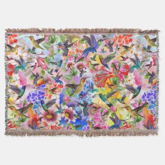 Couverture Oiseaux et fleurs de ronflement