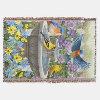 Couverture Oiseaux et jardin d'agrément colorés de Bath