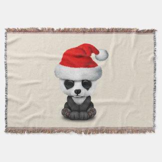 Couverture Ours panda de bébé utilisant un casquette de Père