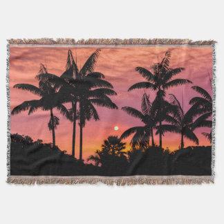 Couverture Palmiers silhouettés, Hawaï