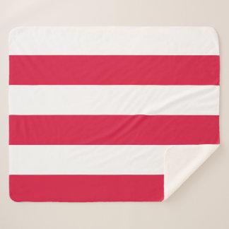 Couverture patriotique de Sherpa avec le drapeau