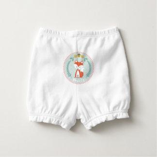 Couverture personnalisée de couche-culotte de bloomer pour bébé