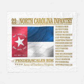 Couverture Polaire 22ème Infanterie de la Caroline du Nord (BA2)