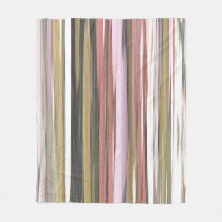 Couverture Polaire #2 abstrait : Tache floue de couleurs d'automne