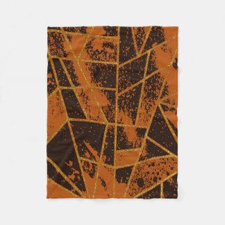 Couverture Polaire #944 abstrait Brown