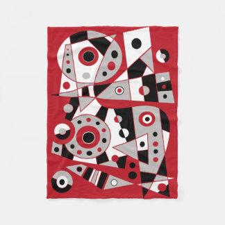 Couverture Polaire #953 abstrait