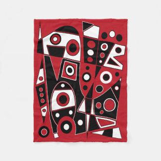 Couverture Polaire #970 abstrait