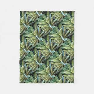 Couverture Polaire Agave tropical