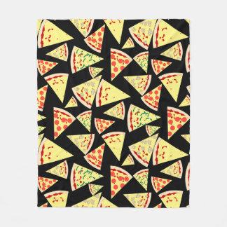 Couverture Polaire Amant aléatoire dynamique de pizza de motif