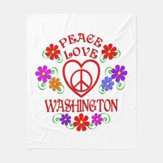 Couverture Polaire Amour Washington de paix