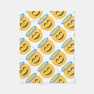 Couverture Polaire Angel Emoji