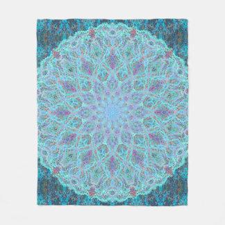 Couverture Polaire arabesque coloré Boho-romantique d'ornement de