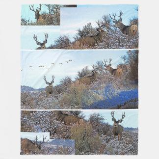 Couverture Polaire Art de faune de photoshop de photographie