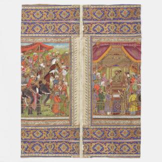 Couverture Polaire Art musulman islamique de Boho de l'Islam de