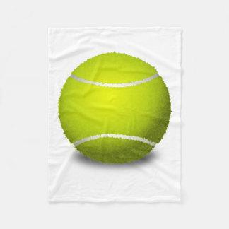 Couverture Polaire Balle de tennis