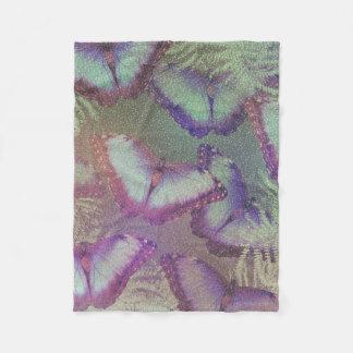 Couverture Polaire Beaux papillons