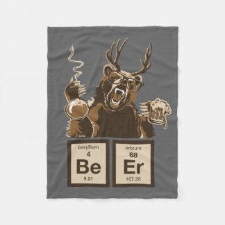 Couverture Polaire Bière découverte par ours de chimie